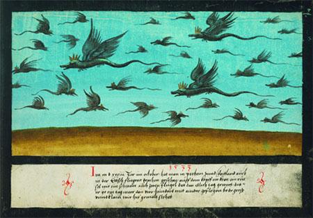 1533 Dragons in Bohemia