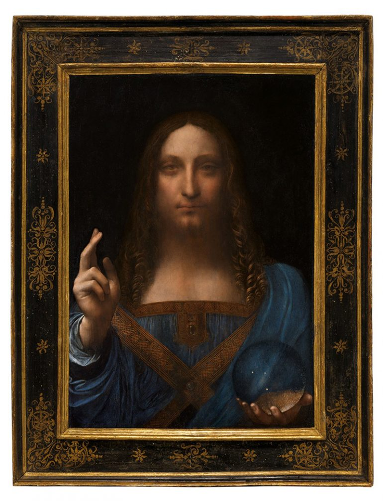 SALVATOR MUNDI: THE LOST LEONARDO PAINTING SOLD FOR $450 MILLION!
