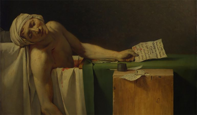 The Lies of the Death of Marat
