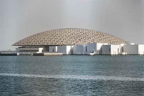 The Louvre Museum in Abu Dhabi