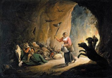 DAVID TENIERS: FLEMISH WORKS OF PEASANTS, ALCHEMY, AND CUTE DEMONS