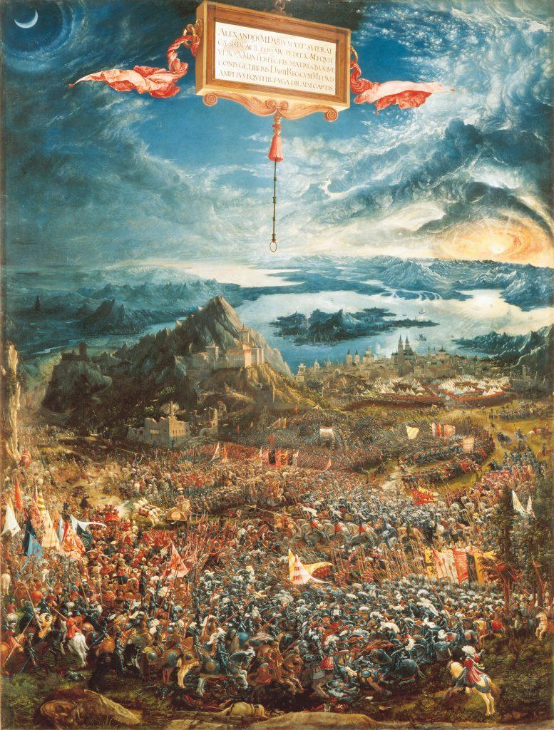 Albrecht_Altdorfer,_The_Battle_of_Alexander_at_Issus
