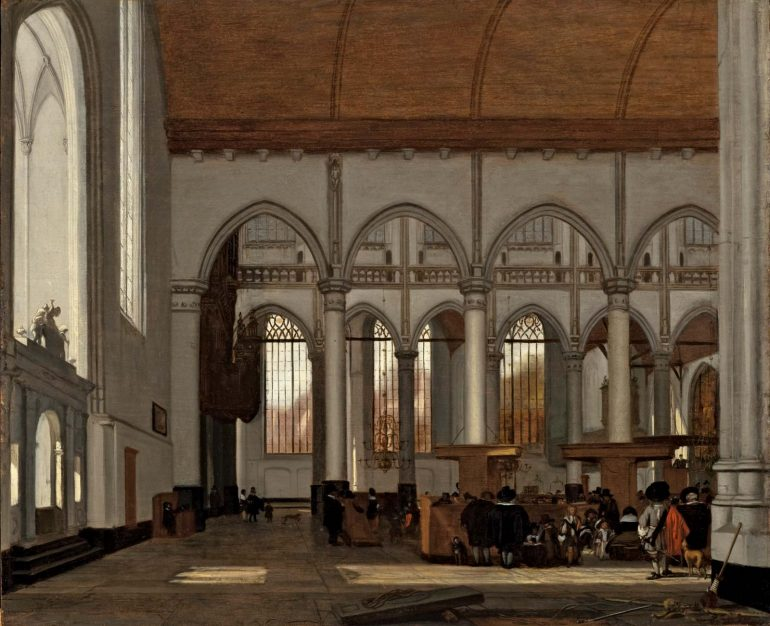 EMANUEL DE WITTE: DUTCH MASTER OF CHURCH INTERIOR ART