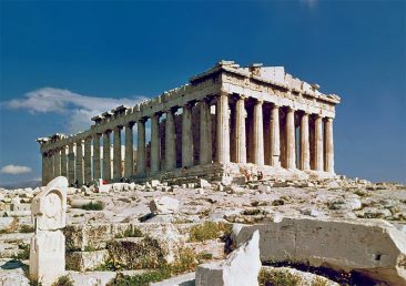 THE MARVELS OF GREEK ARCHITECTURE:  A GLIMPSE OF THE TEMPLES FROM THE ANCIENT WORLD