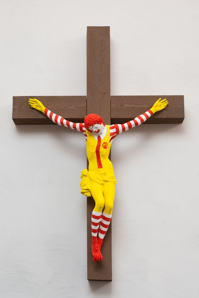 Ronald McDonald Crucifix Sparks Protests From All Sides in Israel