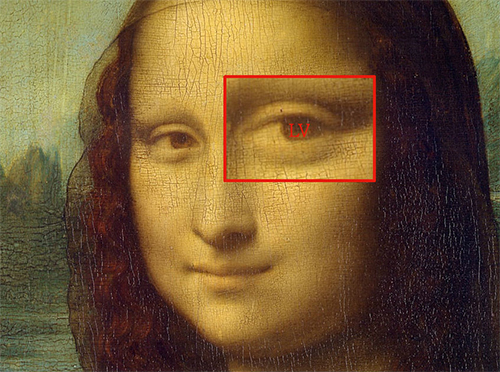 Mona Lisa Eye
