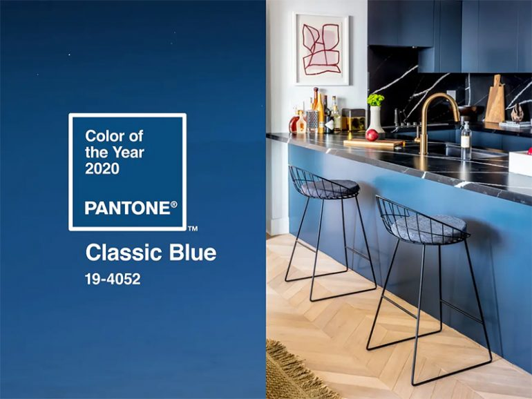 Pantone: 2020 Color of The Year is Classic Blue