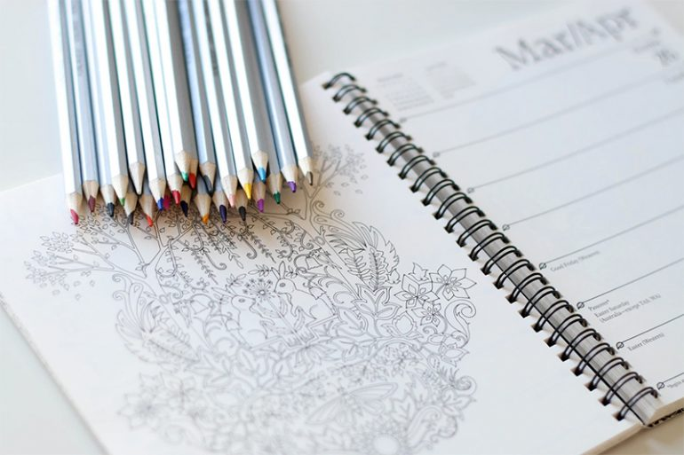 The Therapeutic Effect of Coloring Books