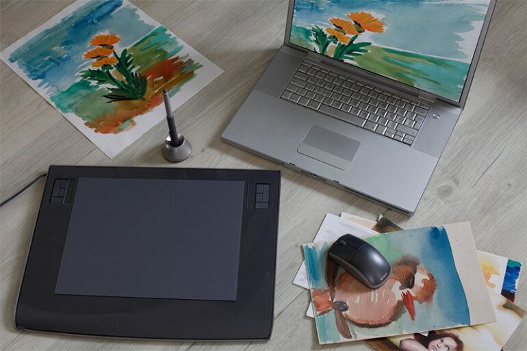 Modern Amenities: How to Get Started with Digital Art