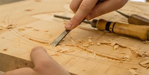 Wood carving enhances physical health