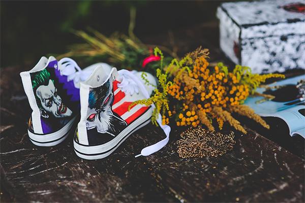 Sneakers Painted