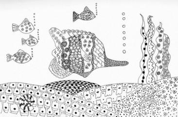 Untangle the Doodle Like Art Method Zentangle