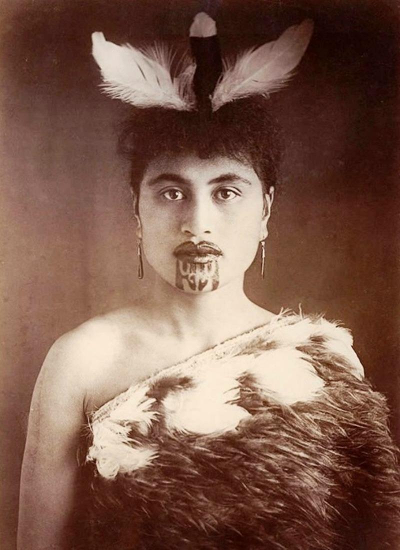 Māori Woman