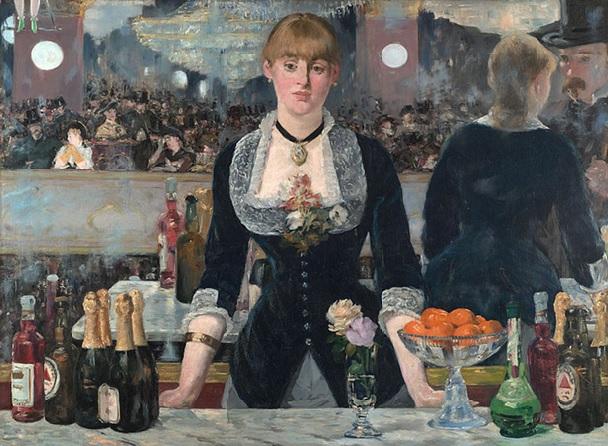 A Bar at the Folies Berg
