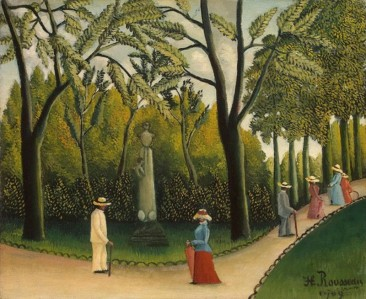 THE NAÏVE STYLE OF HENRI ROUSSEAU – FRENCH POST-IMPRESSIONIST