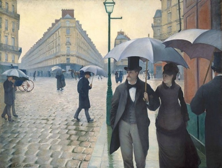 GUSTAVE CAILLEBOTTE, IMPRESSIONIST PAINTER WITH A REALIST STYLE