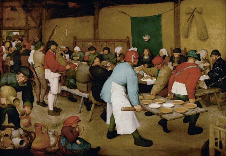 THE GENRE PAINTINGS OF PIETER BRUEGEL THE ELDER