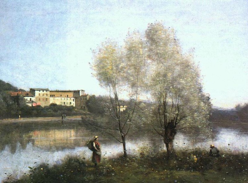 Jean Baptiste Camille Corot Painting