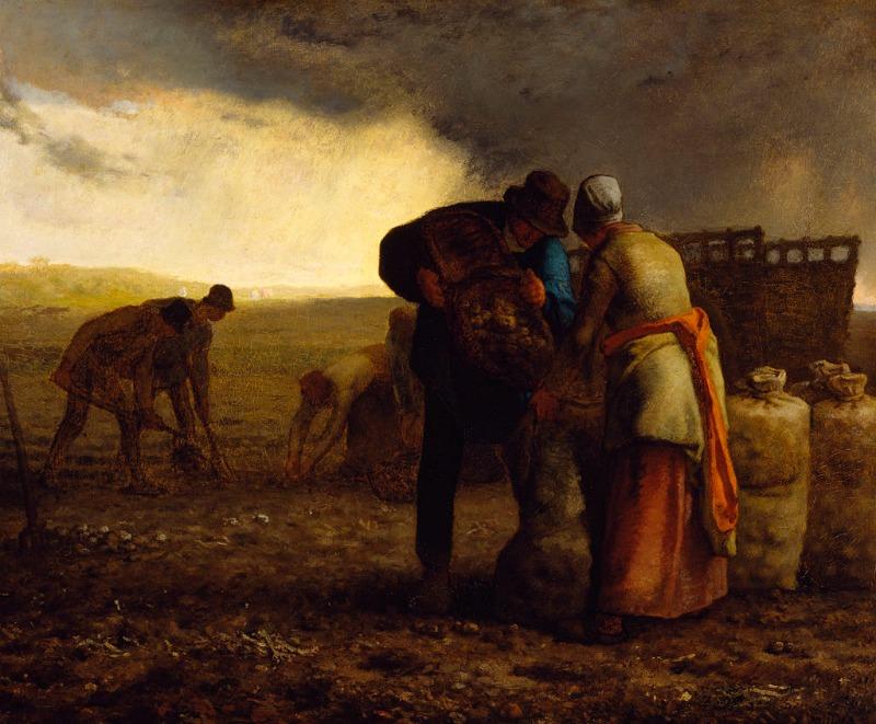 Jean François Millet Painting