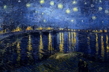 THE SWIRLING AND GLOWING COLORS OF VINCENT VAN GOGH