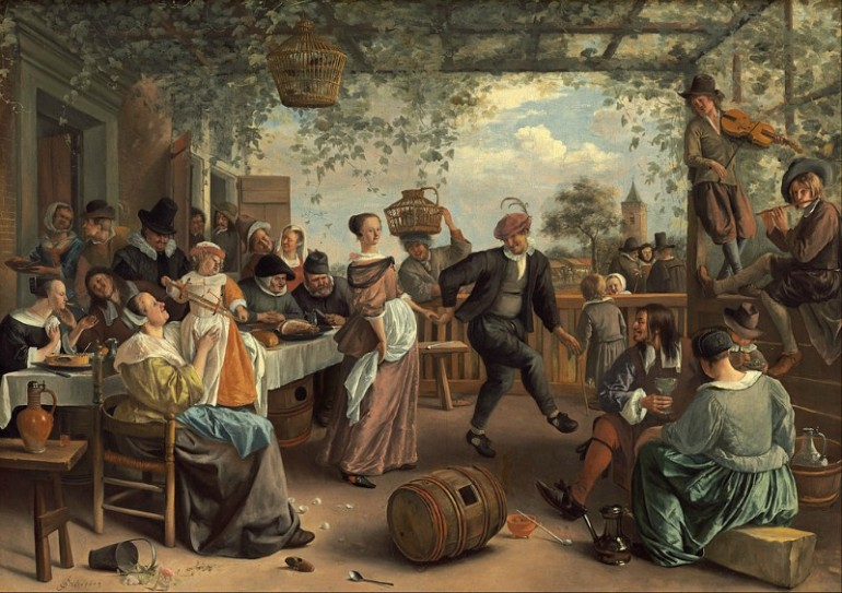 JAN STEEN – DUTCH PAINTER WITH SENSE OF HUMOR AND KEEN PSYCHOLOGICAL INSIGHT