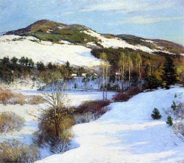 WILLARD LEROY METCALF: PROMINENT AMERICAN LANDSCAPE PAINTER OF THE NEW ENGLAND LANDSCAPE