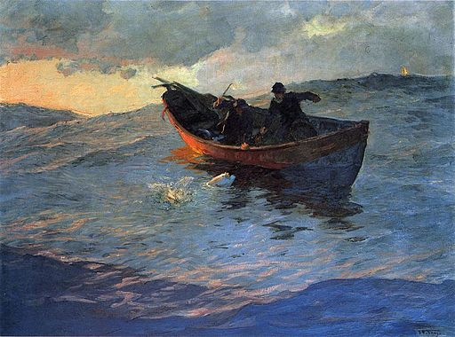 Willard Leroy Metcalf Painting Art