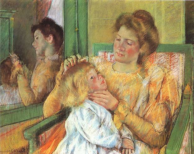 Mary Cassatts painting