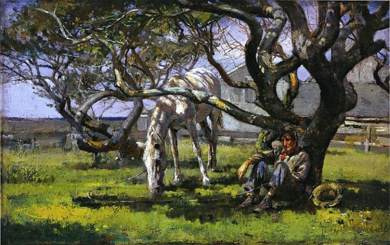 THEODORE ROBINSON, THE FIRST AMERICAN IMPRESSIONIST