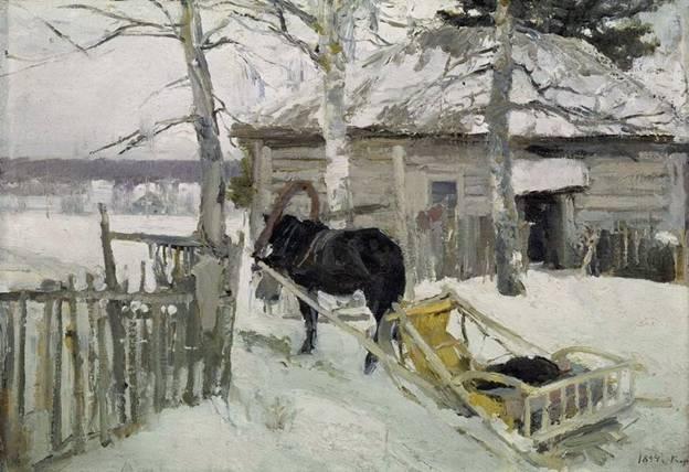 Konstantin Korovin painting