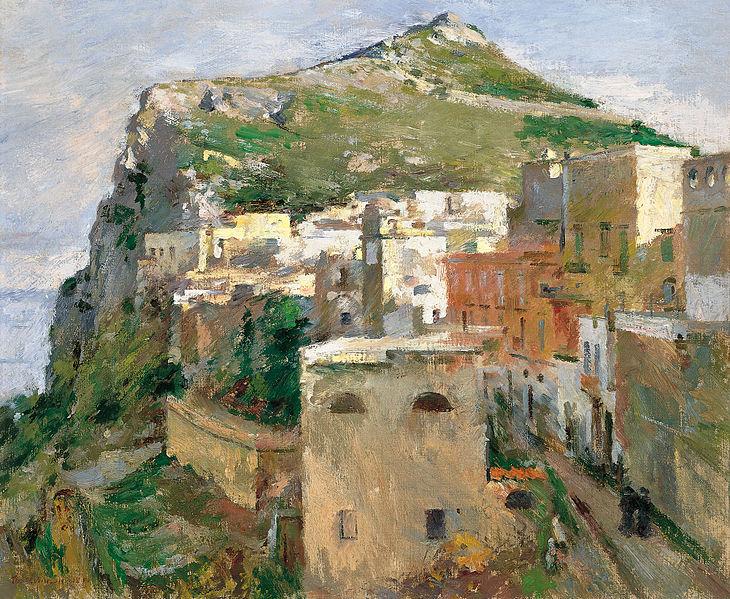 Theodore Robinson painting 1