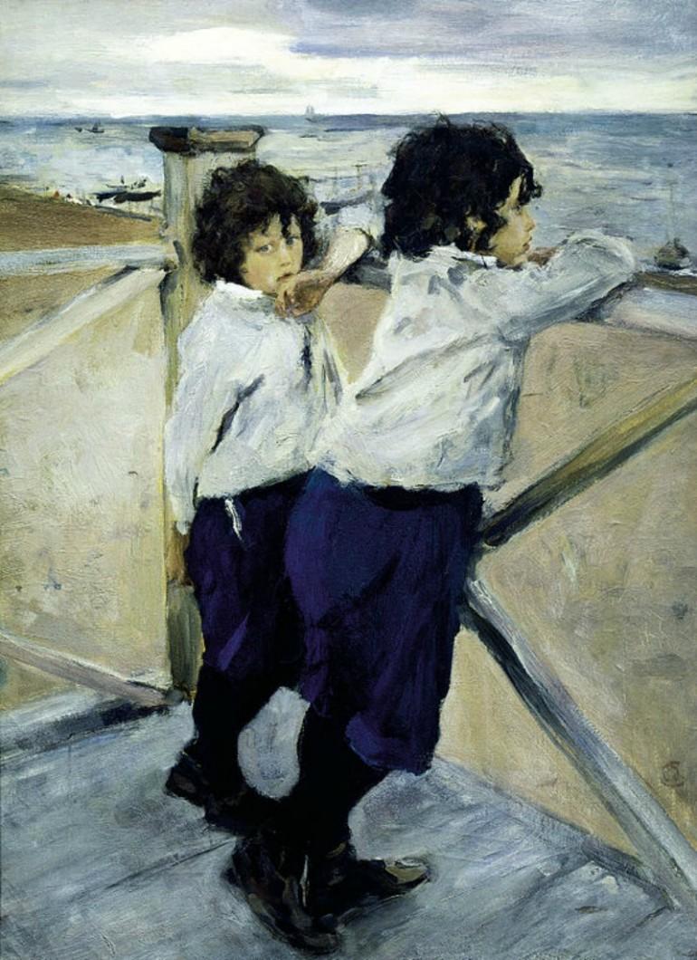 VALENTIN SEROV, RUSSIAN REALIST/IMPRESSIONIST AND BRILLIANT PORTRAITIST