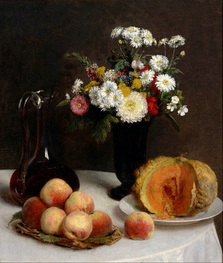 HENRI LATOUR, FRENCH PAINTER FAMOUS FOR HIS FLOWER PAINTINGS AND ASSOCIATION WITH THE IMPRESSIONIST MOVEMENT