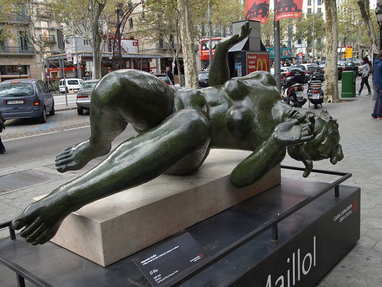 ARISTIDE MAILLOL'S SCULPTURE: CLASSICAL ONLY IN FORM AND SPIRIT