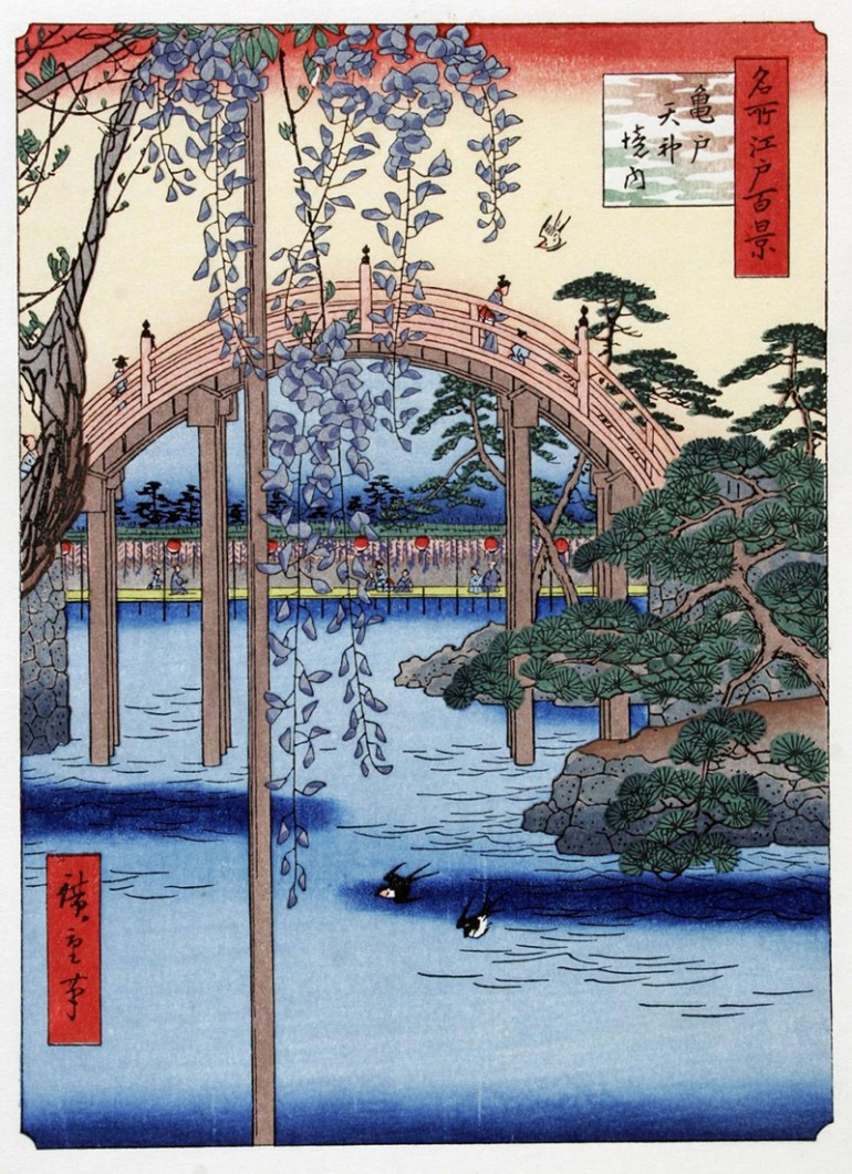 THE UNDER-APPRECIATED ANDŌ HIROSHIGE, JAPAN'S SECOND GREATEST LANDSCAPE WOODBLOCK ARTIST