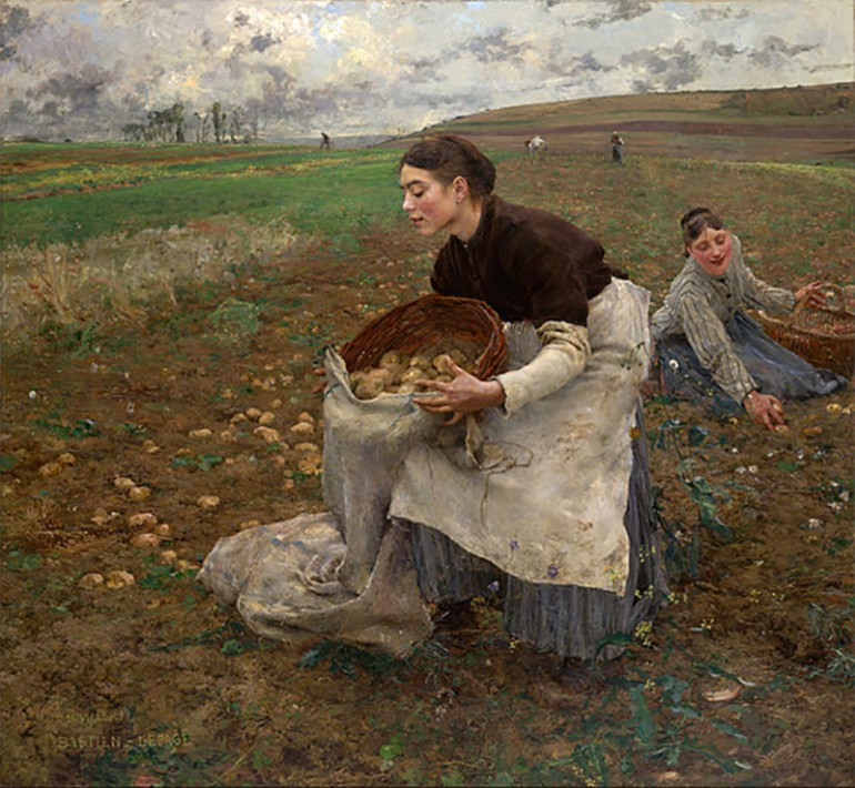 THE NATURALIST REALISM OF THE GENRE PAINTINGS OF JULES BASTIEN-LEPAGE