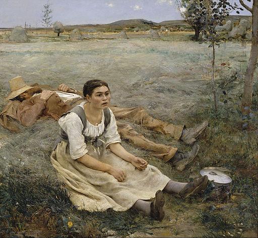 Jules Hay Making