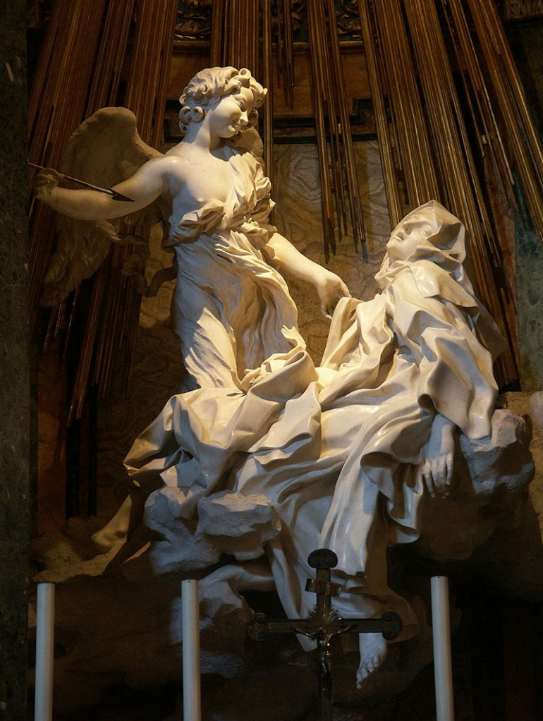 A MOMENT'S POIGNANCY AS CAPTURED IN THE SCULPTURAL MASTERPIECES OF GIAN LORENZO BERNINI