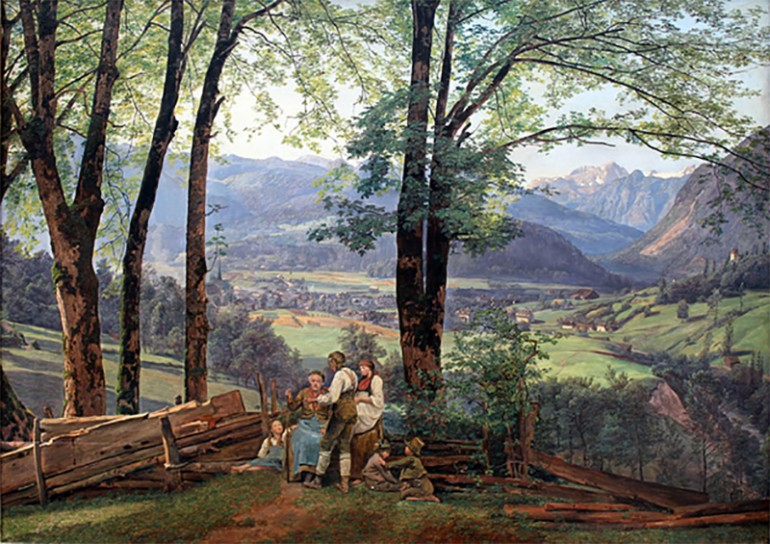 THE POWERFUL PICTORIAL MESSAGES AND REALISM OF THE IMAGES OF FERDINAND GEORG WALDMÜLLER