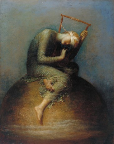GEORGE FREDERICK WATTS, ENGLISH VICTORIAN PAINTER WHO PAINTED IDEAS NOT OBJECTS