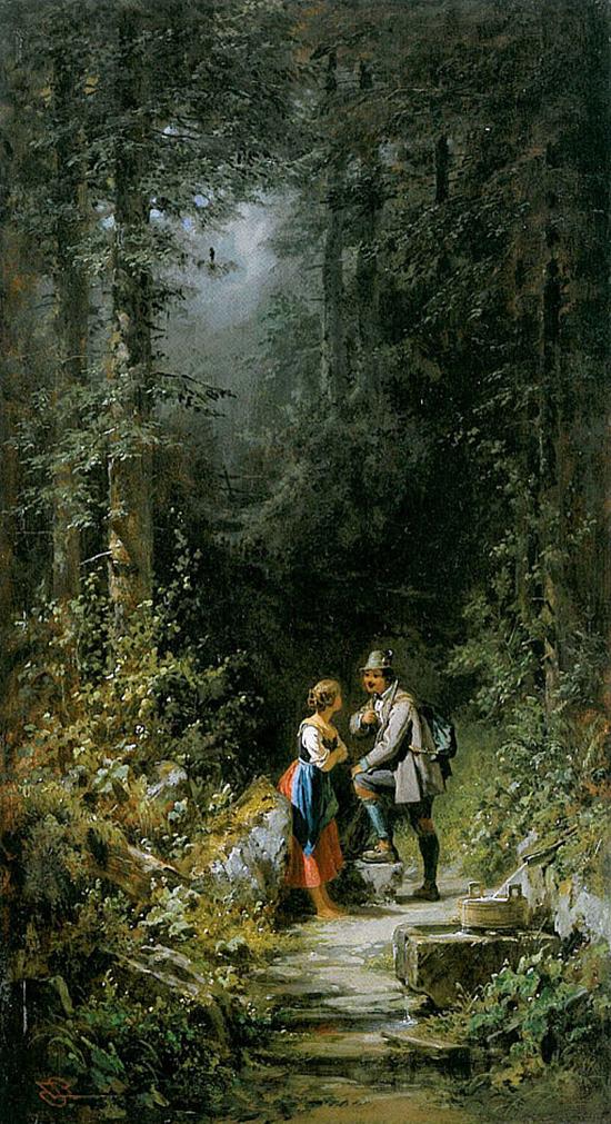 Begegnung im Walde