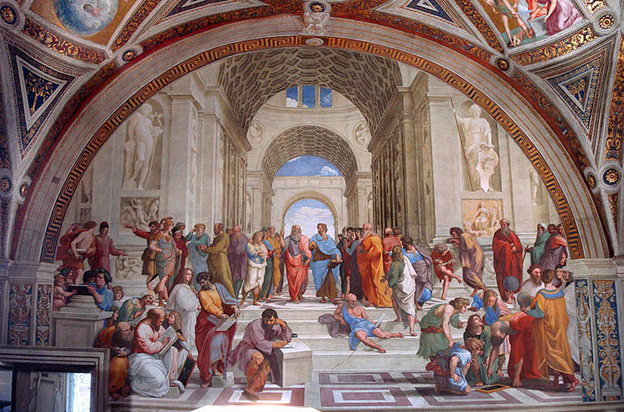 Escola De Atenas Vaticano