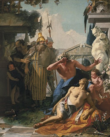 GIOVANNI BATTISTA TIEPOLO, 18TH CENTURY EUROPE'S GREATEST DECORATIVE ARTIST