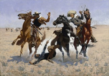 THE FASCINATING, TOUGH AND ROUGH AMERICAN WILD WEST IN THE EYES OF FREDERIC REMINGTON