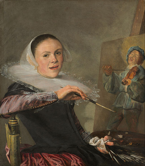 Judith Leyster - Self-Portrait