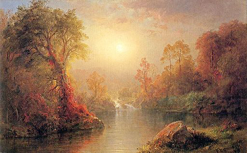 Frederic Church Autumn