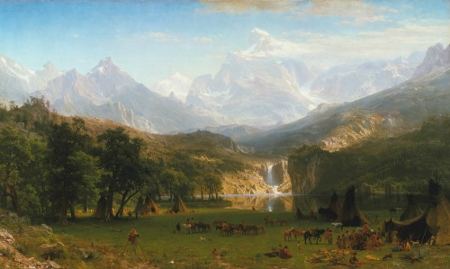 Albert Bierstadt Rocky Mountains
