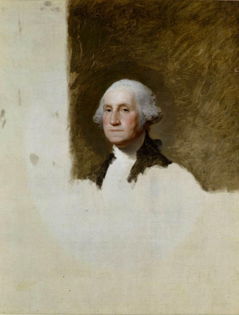GILBERT STUART, ONE OF AMERICA'S TOP-RANKED PORTRAITIST AND LEADER IN COLONIAL ART