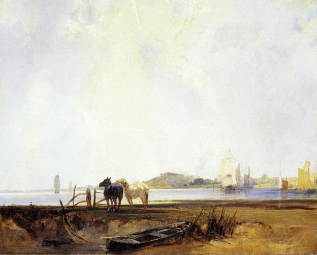 Landscape near Quilleboeuf