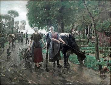 MAX LIEBERMANN, GERMAN PROPONENT OF IMPRESSIONISM WITH A TOUCH OF REALISM